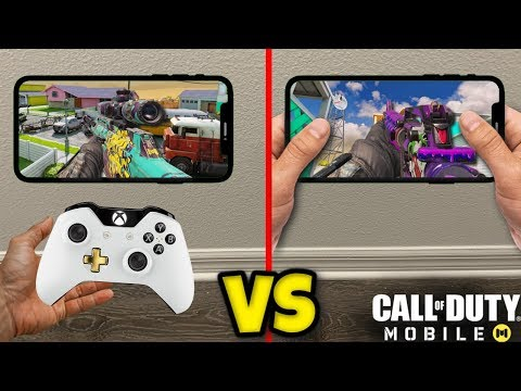 CONTROLLER Vs THUMBS On Call Of Duty Mobile