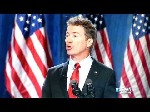One Minute of Rand Paul Presidential Announcement