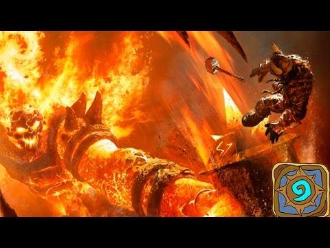 видео: hearthstone: Огненный недра Черной Горы!