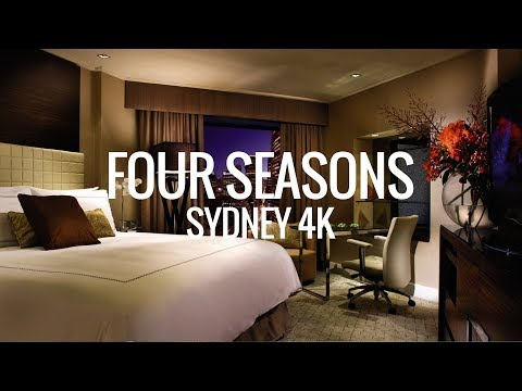 Four Seasons Sydney Room and Hotel Tour Australia 4K