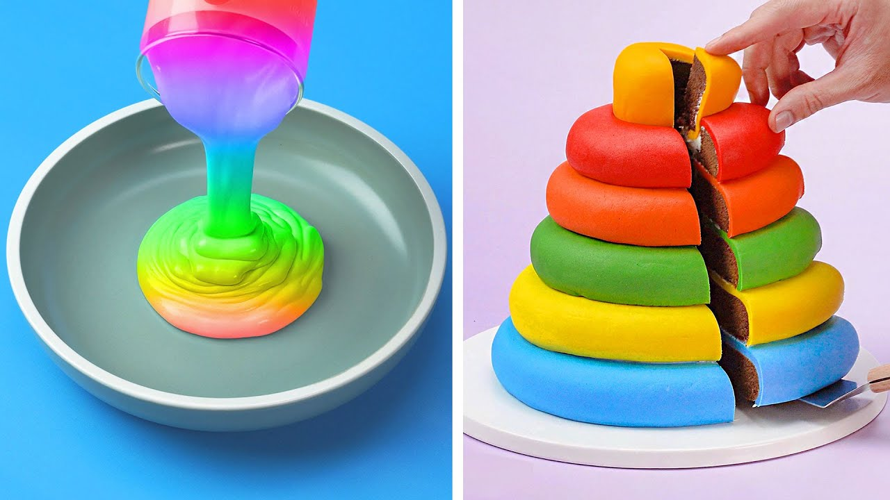 The Best Unicorn Cake Recipes For Everyone | Amazing Colorful Cake Decorating Ideas by So Tasty