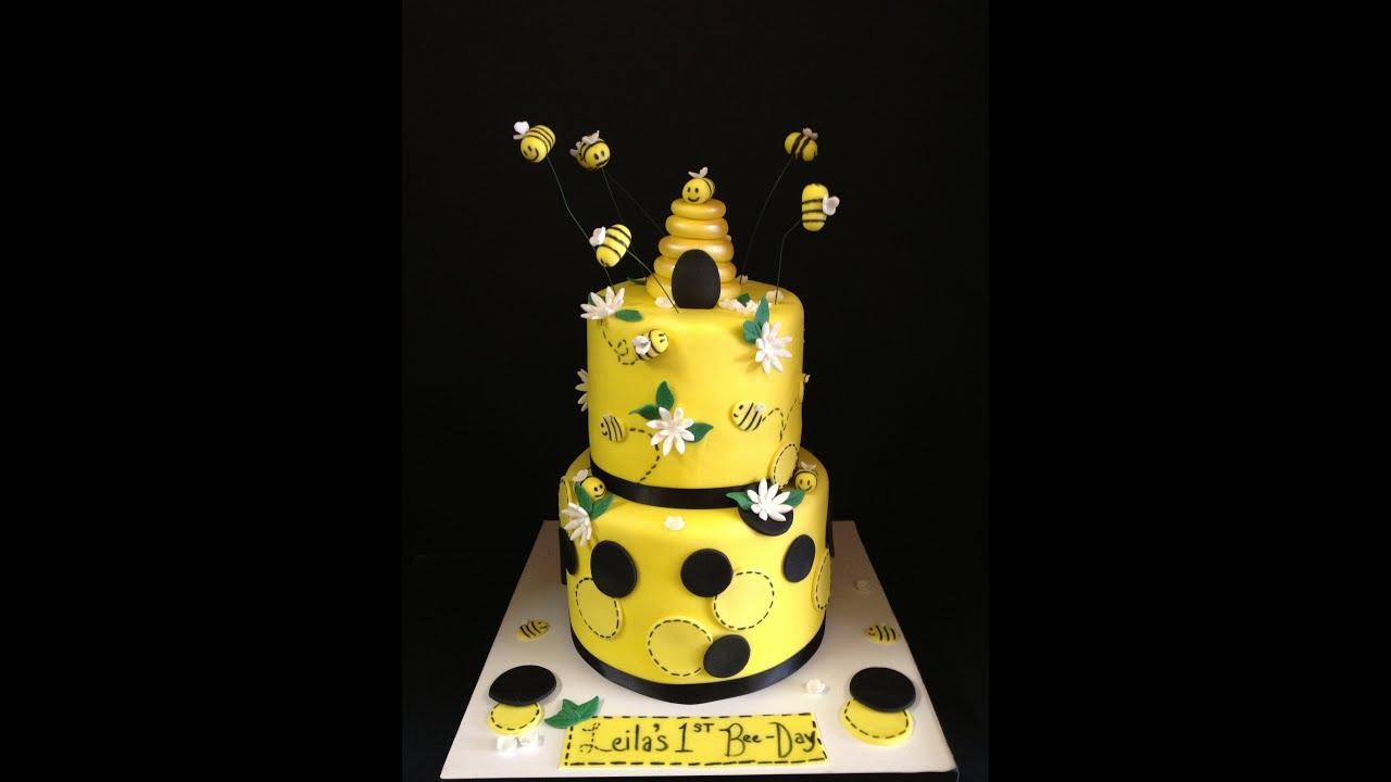Bee Themed Cake