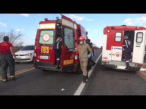 Homem morre e pelo menos sete pessoas ficam feridas durante acidente na PB; veja vídeo