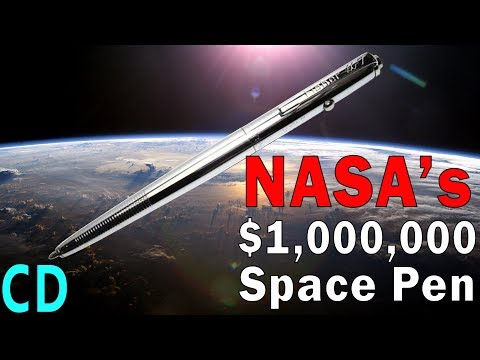 NASA's Million Dollar Space Pen Vs The Soviet Pencils