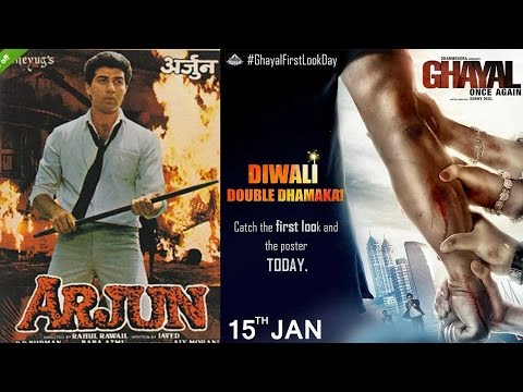 Sunny Deol will remake Arjun and Damini after Ghayal once-again