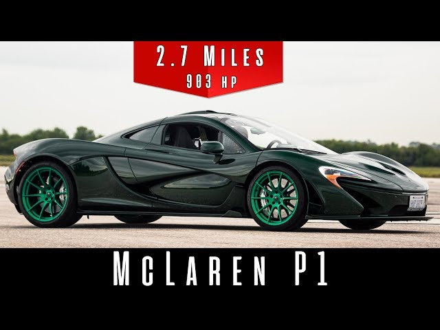 Mclaren P1 Doesn T Break A Sweat As It Casually Nudges Top Sd Carscoops