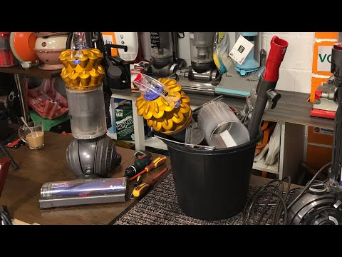 Dyson DC50, Mini Stripdown, Cleanup, Repair & Demo