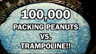 TRAMPOLINE VS EVERY SODA! *EXPLOSIONS*