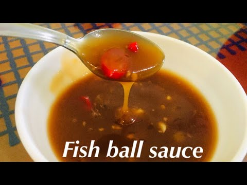 Fish Ball Sauce | Kikiam Sauce | How To Make Sauce