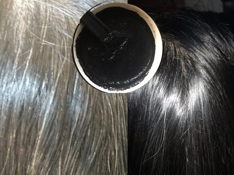 Homemade Herbal Black Hair Dye, सफेद बालों को नेचुरली काला करें, Stop Premature Graying, Hair Damage