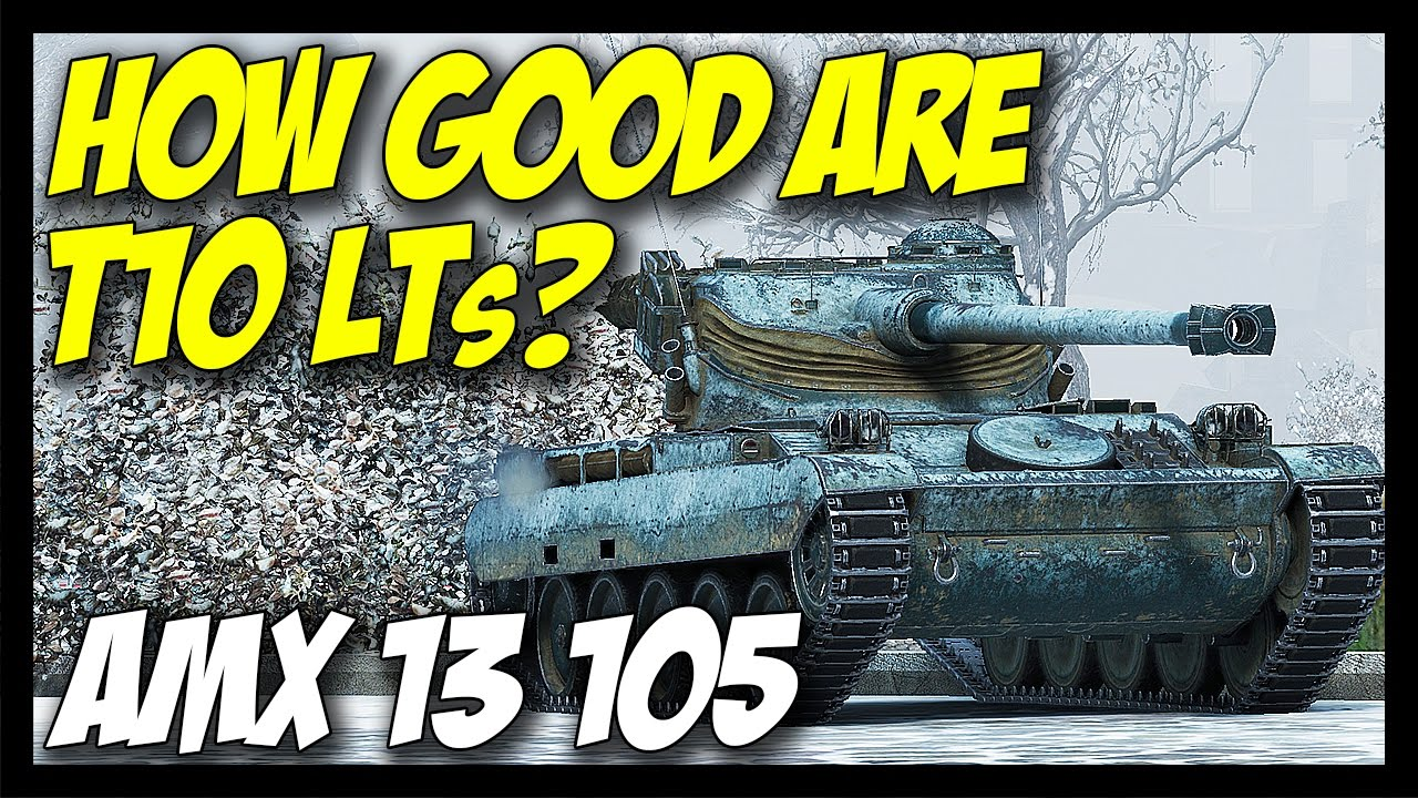 ► How Good Are Tier 10 LTs? - World of Tanks AMX 13 105 Gameplay