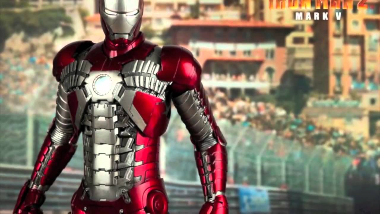 Hot Toys Iron Man 2 Movie Masterpiece Mark 5 (suitcase ...