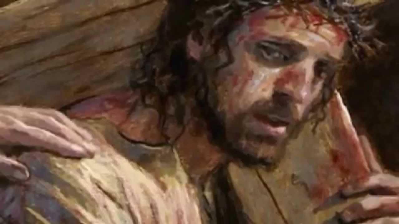 Resultado de imagem para jesus  e Maria no calvario