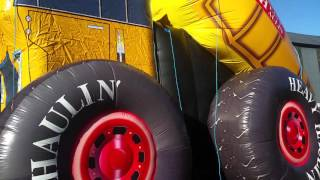 Video Airmax Inflatables - Monster Tipper truck Slide download MP3, 3GP, MP4, WEBM, AVI, FLV Oktober 2018