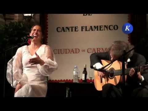 Rosi Campos por granainas - Final Concurso Nacional Cante Flamenco Ciudad de Carmona