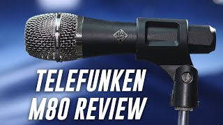 Telefunken M80 Dynamic Mic Review / Test