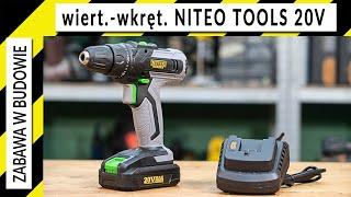 Czy warto? Niteo Tools 20V wiertarko-wkrętarka z Biedronki