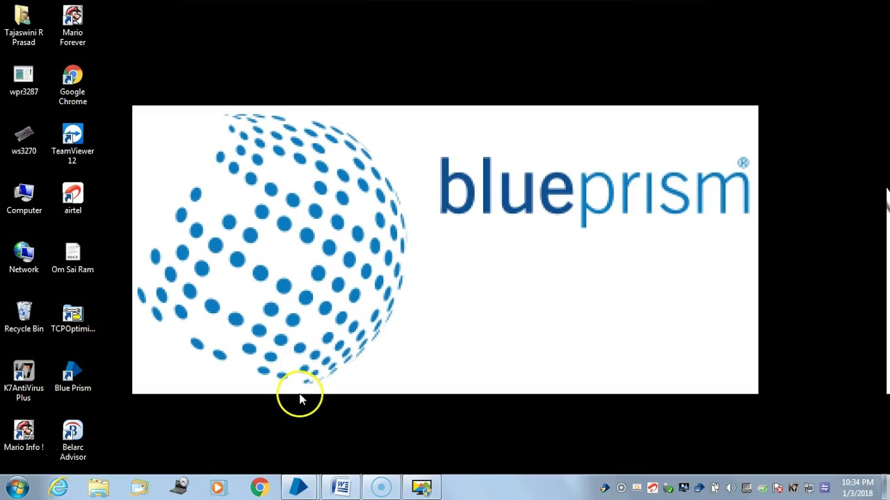Automating Mainframe in Blueprism