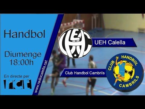 El partit: UEH Calella - CH Cambrils