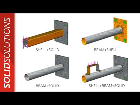 Webcast Wednesday - SolidWorks Simulation - Mixed Mesh Techniques