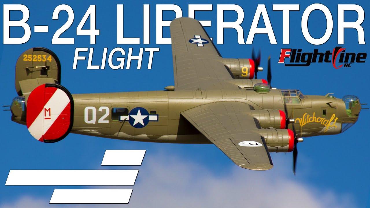 "Flightline RC B-24 Liberator 2000mm (79"") - Motion RC Flight"
