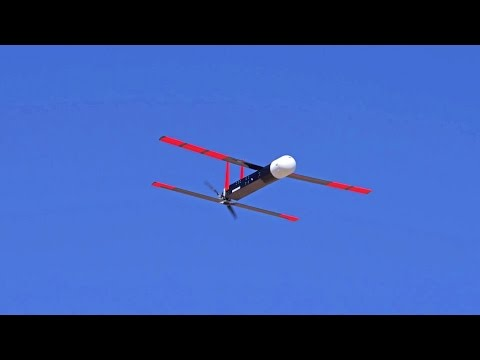 Office Of Naval Research - Autonomous Low Cost UAV Swarming Technology Testing [1080p]