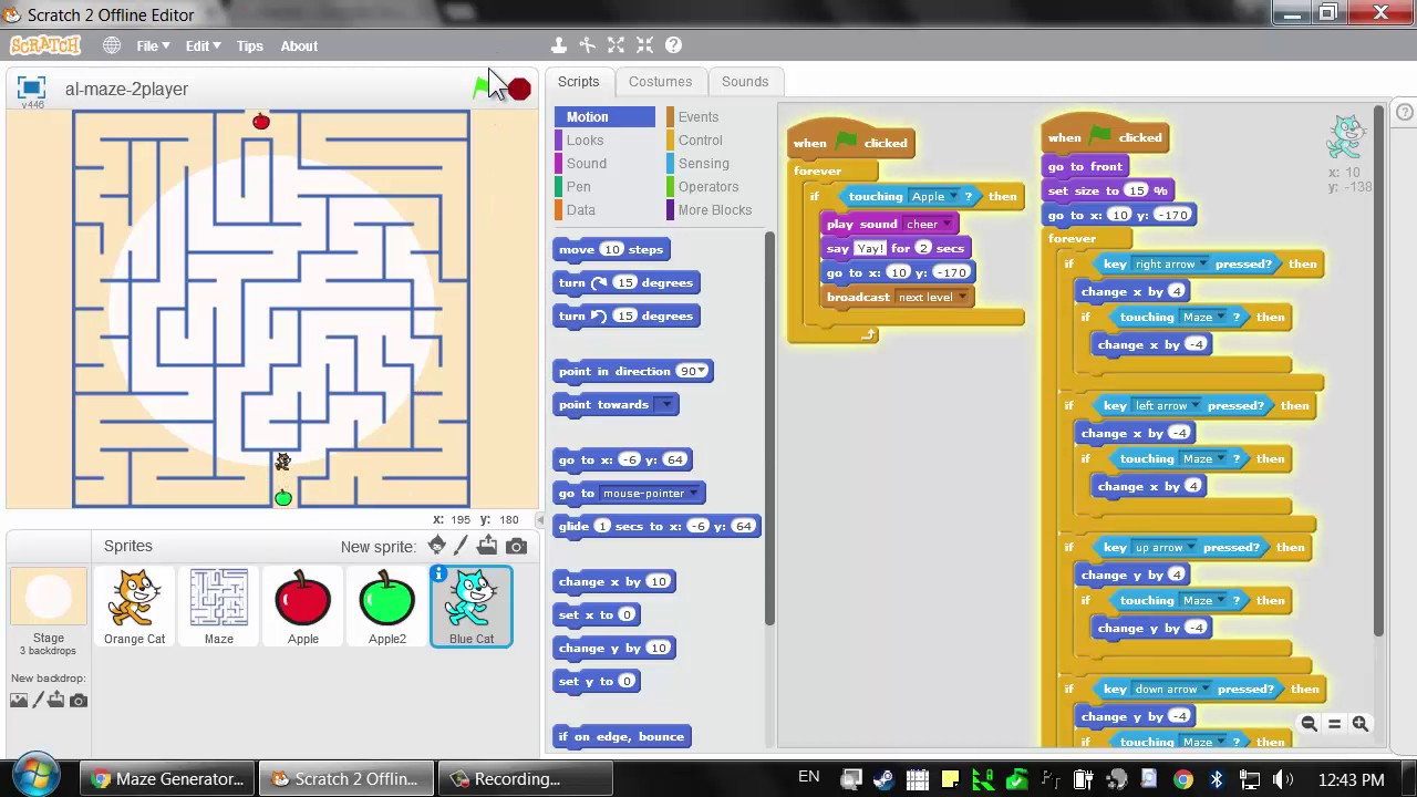 Scratch Game Programming for Young Adults - Lesson 10