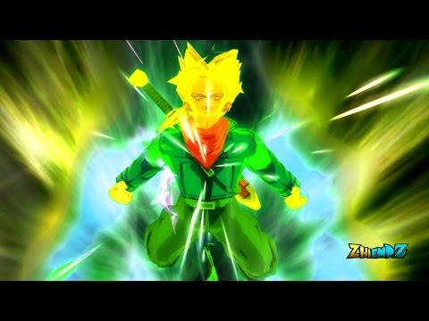 Future Trunks (Dragon Ball Super)- All Transformations (SSJ,1,2,Rage)  DBZ Budokai Tenkaichi 3 MOD