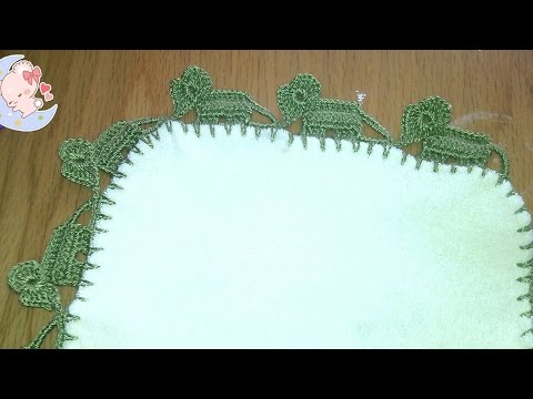 Puntilla de elefante en crochet para bebe youtube - Puntillas para sabanas ...