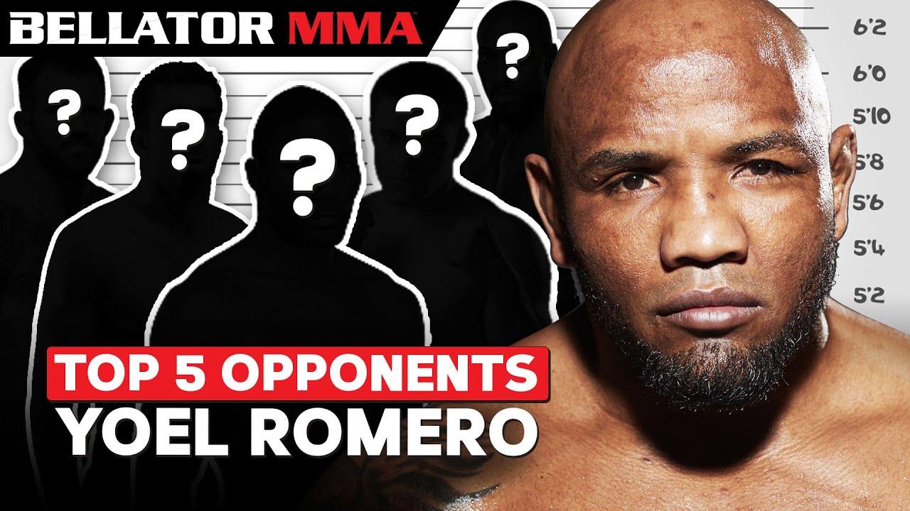 TOP Opponents for Yoel Romero | Bellator MMA