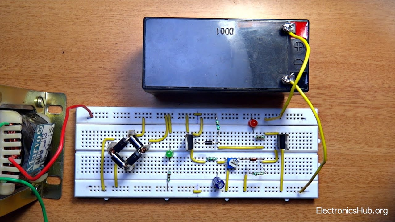 circuit diagram battery charger using scr [ 1280 x 720 Pixel ]