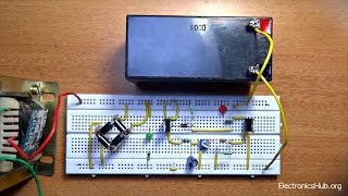 How To Make Automatic Battery Charger?