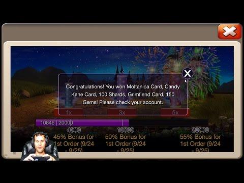 12 Fireworks For Demogorgon Rolling 24000 Gems For Talents Castle Clash
