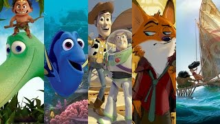 New Details On Upcoming Pixar & Disney Animated Movies Revealed