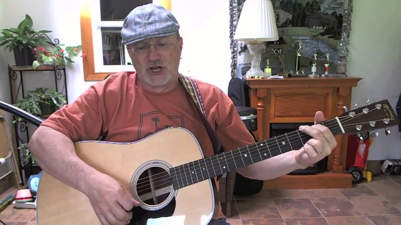 21b Hold On Tom Waits Cover With Lyrics And Chords Youtube