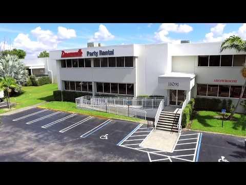 Diamonette Party Rental Facilities Tour