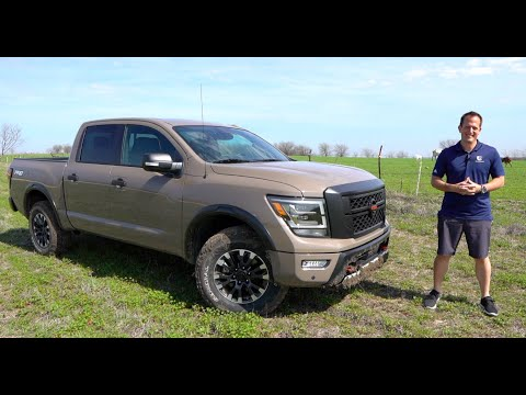 Is The 2020 Nissan Titan Pro-4X The BETTER Off Road Truck Than A Toyota Tundra TRD?