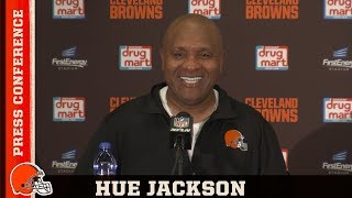 Hue Jackson Postgame Press Conference vs. Jets | Cleveland Browns
