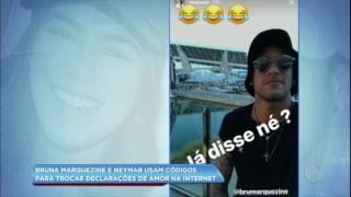 Hora da Venenosa: Bruna Marquezine e Neymar confundem fãs na internet