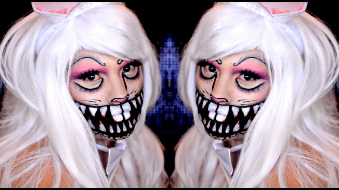 Killer Bunny Halloween Makeup Tutorial! - YouTube
