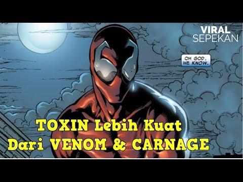 Asal Usul Lahirnya TOXIN Symbiote Kuat Anak dari CARNAGE