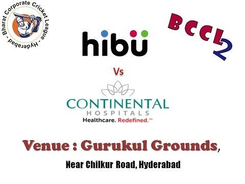 BCCL2-Group B-Continental Hospitals Vs Hibu(Part 2)