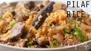 HOW TO COOK THE PERFECT  PILAU/PILAF RICE