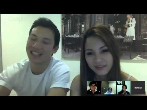 Hannah Tan's FAMILY HOUR Live Video Chat (April 2014)