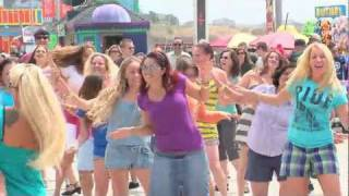 Flash Mob Invades Santa Cruz Beach Boardwalk