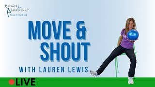 Power for Parkinson's Move & Shout Live Streaming Day 334