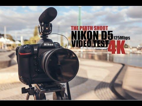 Nikon D5 4K Video Test