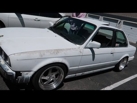 LYV SPRAY PAINTING THE E30 PT. 1