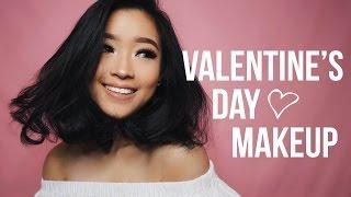 Valentine's Day Makeup | Marcella Febrianne