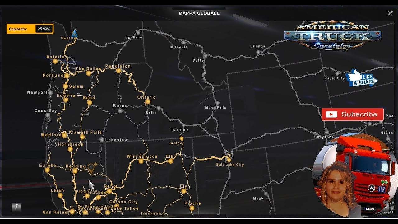 American Truck Simulator (1 32) Coast to Coast 2 6 Install Tutorial + DLC's  & Mods